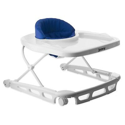 Joovy Spoon Walker Steel Oversized Wheels Folds Flat Supportive Seat Blueberry
