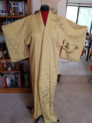 Vintage Japanese Silk Kimono LAST CHANCE TO BUY BEFORE IT GOES TO MARKET