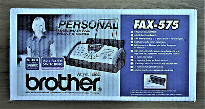 Brother FAX-575 Personal Fax Phone and Copier (Factory sealed!) - Brand New!