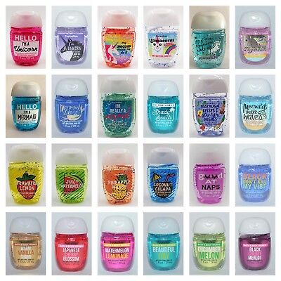 Bath and Body Works POCKETBACS Hand Sanitiser BUY 4 GET 1 FREE (add 5 to basket)