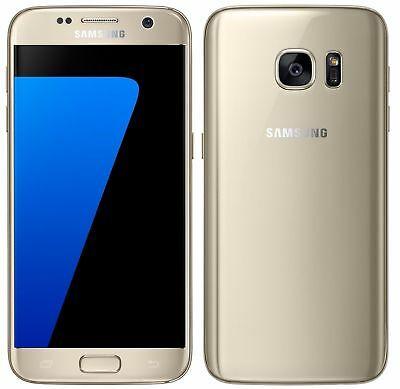 Samsung Galaxy S7 SM-G930A 32GB Unlocked (AT&T) 4G 12MP 5.1'' Gold Platinum USA
