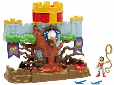 New Fisher Price Imaginext Wonder Woman Themyscira Island /& Queen Hippolyta