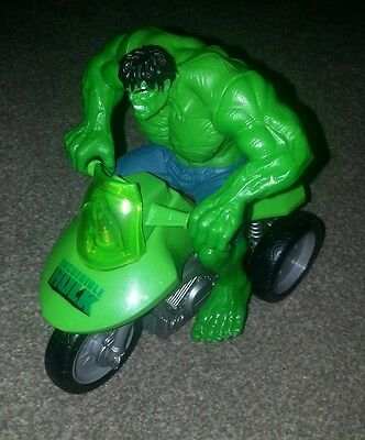 Incredible Hulk Toy Figure and Trike Hasbro Marvel Comics 2007
