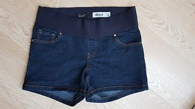 Maternity denim shorts 10 New Look