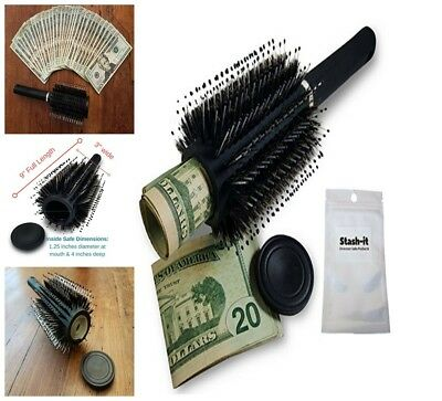 Hidden Container Safe Can Stash It Jewelry Home Hair Brush Secret Diversion