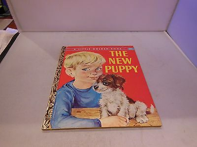 The New Puppy by Kathleen N. Daly - A Little Golden Book 1959