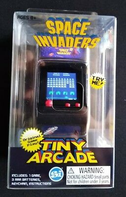 Tiny Arcade Space Invaders Miniature Arcade Game Worlds Smallest Namco Impulse