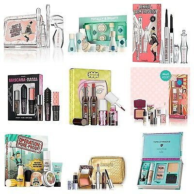 ❤Benefit Gift Set/Kit:Brow,Lip,Skincare,Powder,Blusher,Pore,Mascara-AUTHENTIC❤