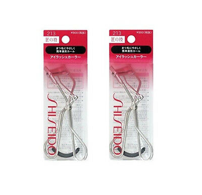 2 pcs SHISEIDO Eyelash Curler 213 ( + One Refill Pads ) from Japan
