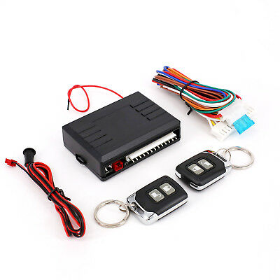 Universal Car Remote Control Central Kit Door 10A Locking Keyless Entry System