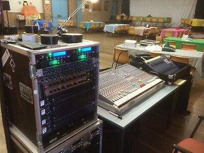 Stage Audio & Lighting Rig