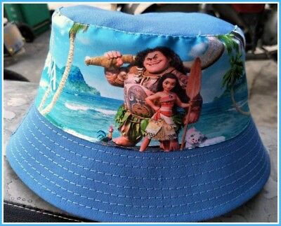 Children's Cotton Bucket Hat - Moana