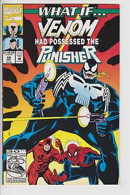 What If...? #44 (Dec 1992 Marvel) VF/NM Venom Had Possessed The Punisher