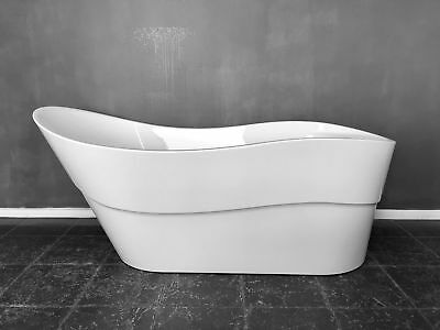 1700 x 800 Bathroom Japan Acrylic Free Standing Bath Tub 3cm Slim edge RRP $949