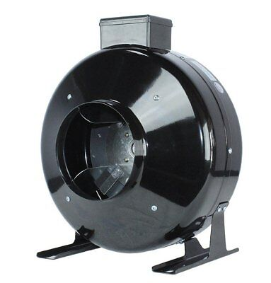 Hydroponics 6'' Low Noise  HIGH CFM Air Blower Cool Vent Exhaust Inline Duct Fan