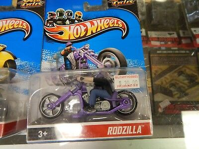 Hot Wheels Speed Cycles x 4
