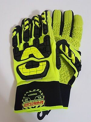 New Ironclad Industrial Impact Rigger Gloves Sz XL 10 INDI-RIG VIB-RIG MSRP $34