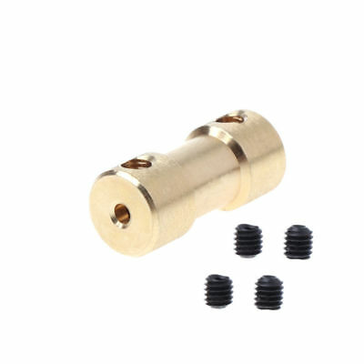 2-5mm 20mm M3 Motor Copper Shaft Coupling Coupler Connector Adapter Sleeve Set