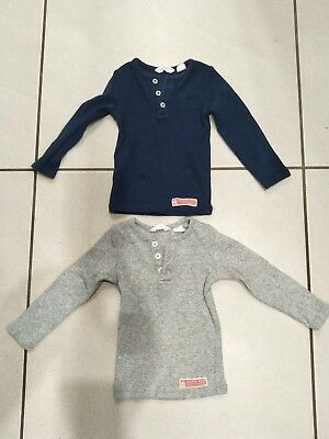 Country Road Baby Boy's Long Sleeve Tops (2) Size 00