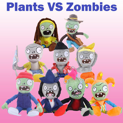 New Plants vs Zombies 2 PVZ Figures Plush Baby Staff Toy Stuffed Soft Doll Gift
