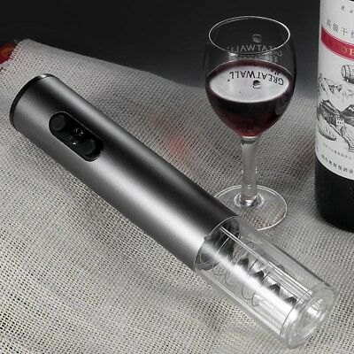 Automatic Wine Opener Electric Corkscrew Bottle Cordless Tool Foil Cutter Kit
