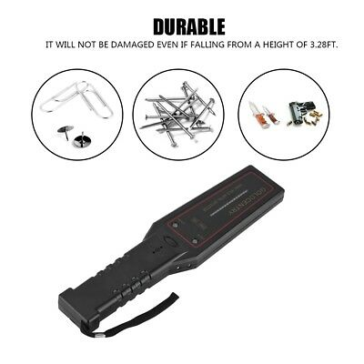 Portable Secure Scan Handheld Metal Detector Wand Event Security Safety Scanner
