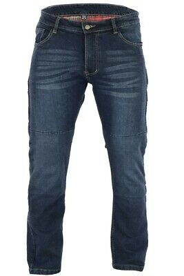 BUSA Black Tab 99 Blue Stretch Fit Motorcycle Jeans made with Kevlar Lining