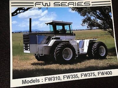 Ford FW Tractor Leaflet