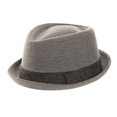 CAPPELLO PORK PIE Cappello Ska   Mod S M L NERO Marrone Grigio Tweed ... dbed2d7acc54