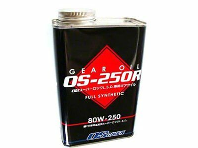 OS Giken Limited Slip Differential Fluid  80w250 6x  1 liter Cans