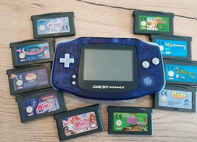 Nintendo Game Boy Advance mit 10 Spiele