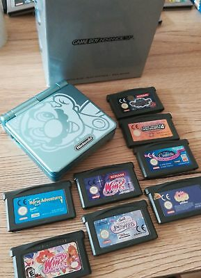 Nintendo Game Boy Advance SP001 - Mario - mit 3 Top Spiele