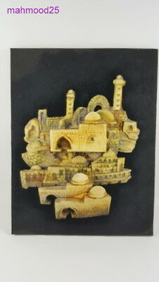 Vintage Wooden Panel Old Carved of ancient architectural buildings of Holy Land
