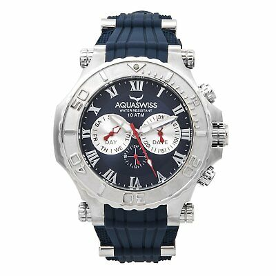 Aquaswiss Men's Blue Bolt 5H Watch