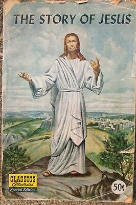 1968 Classics Illustrated Comic Book- The Story of Jesus Special Edition