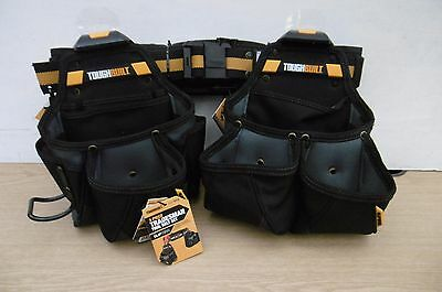 Toughbuilt 3Pce Tradesmans Tool Belt Set Ct 111 3  Tb-Ct111-3