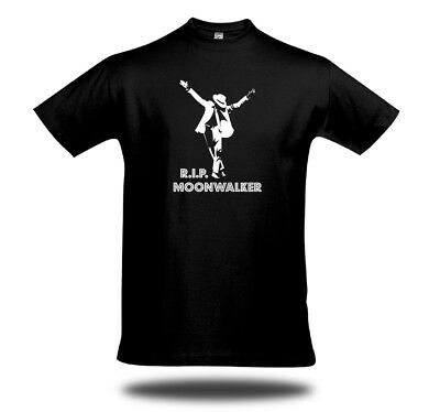 MOONWALKER Michael Jackson FANSHIRT UNISEX King of Pop Thriller GLOW