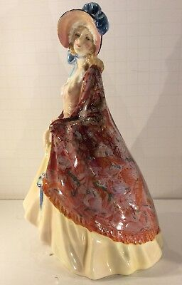 """Royal Doulton """"Paisley Shawl"""" HN 1392 Large Size Made In England Mint"""