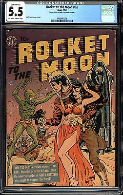 Rocket to the Moon #nn CGC 5.5 ( CONSERVED )