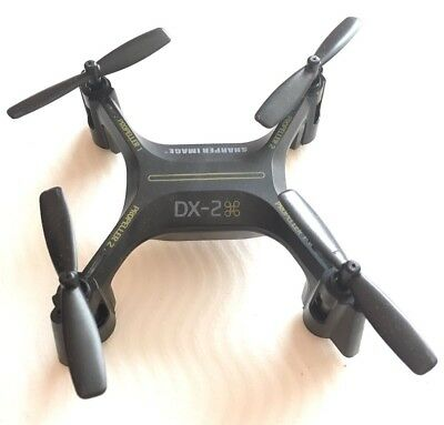 Sharper Image Dx 2 Stunt Drone Rechargeable 24 Ghz Drone Only No