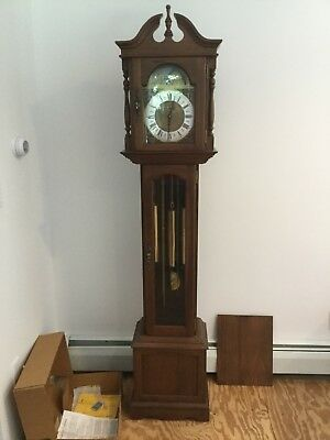 Grandfather Clock Emperor # 100M, Germany 1974-8 Day Weight Driven-Not Tested