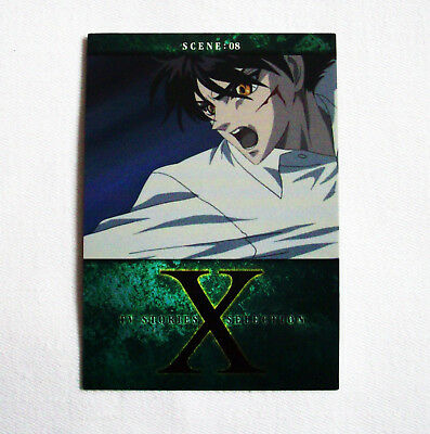Rare! CLAMP X/1999 Trading Card No. 80 ~Kamui Shiro~ Anime/Manga Japan