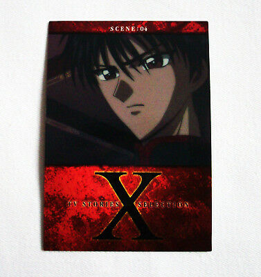 Rare! CLAMP X/1999 Trading Card No. 112 ~Kamui Shiro~ Anime/Manga Japan