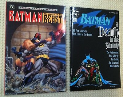 1994 Batman Ten Nights Of The Beast Tpb 1St Print A Death In The Family 8Th
