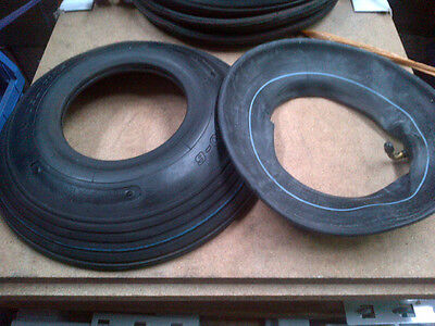 2pcs Industrial 4.00x6 Tyres & Tubes - Pack of 2 pairs