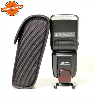 YONGNUO YN565EX II SPEEDLITE Digital Speedlite Flash Flashgun Canon Free UK Post