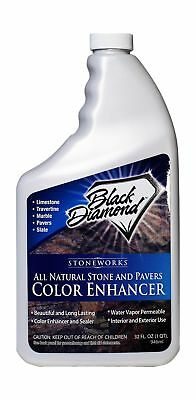 Color Enhancer Sealer For All Natural Stone and Pavers. Marble, Travertine, L...