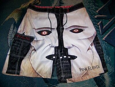 8bd897d25d NEW PINK FLOYD THE DIVISION BELL Dragonfly Swim Trunks Surf Board Shorts 36  RARE