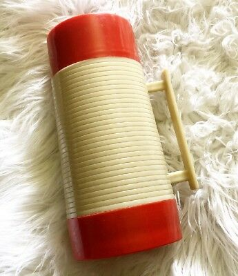 Alladin Hy Lo Thermos Wide Mouth 1970's With Lid & Stopper VINTAGE
