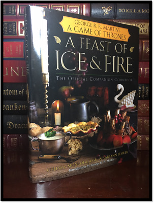 Game of Thrones A Feast Ice and Fire Official Companion Cookbook New Hardcover